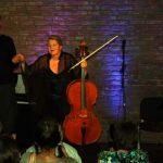 Aglaja Camphausen (Stimme) und Ullrich van der Schoor (Klavier)