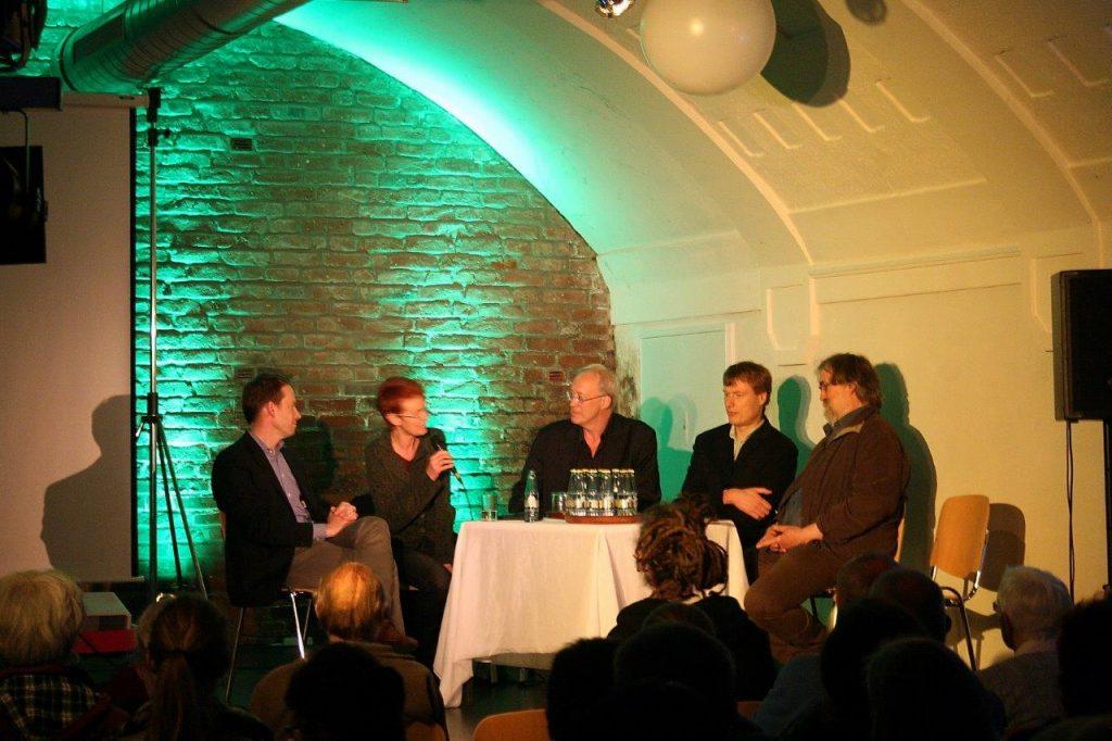 v.l.n.r. Martin Neipp, Ute Koczy, Harry van Bargen, Friedel Huetz-Adams und Gerlinde Wientgen