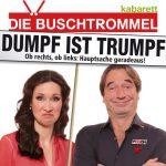 DIE BUSCHTROMMEL: Dumpf ist Trumpf