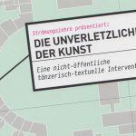 Von der Kunst des Verschwindens - eine öffentliche Diskussion über eine nicht-öffentliche Aktion