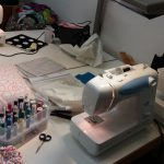 Nähen in der Couture-Fabrik
